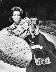 Joan Crawford signed photo...1940s