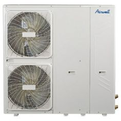 Pompe à chaleur monobloc 12 kW AIRWELL basse température, idéale pour un confort optimal toute l'année.  Solution idéale pour plancher chauffant/rafraîchissant, radiateurs basse température ou ventilo-convecteurs.