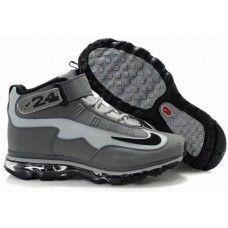 2012 nike air max ken griffey jr mens gray black shoes db40c9de6