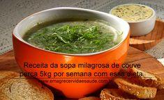 Sopa Milagrosa Detox de Couve