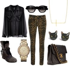 """""""black and gold"""" by addiwood ❤ liked on Polyvore"""