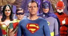 DC TV heroes.