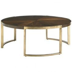 Stanley Crestaire Autry Round Cocktail table ST-436-15-01
