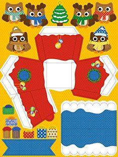Ursus 17820001 - Adventskalender Eule, Bastelset für 24 Geschenkboxen: Amazon.de: Spielzeug