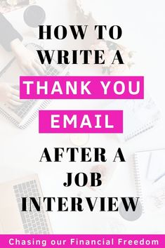 How to write a thank you email after an interview to make sure you impress recruiters and land your dream job. Do's and don'ts of a thank you email, plus a free thank you email sample. Thank You After Interview, Interview Follow Up Email, Job Interview Tips, Interview Preparation, Behavioral Interview Questions, Interview Questions And Answers, Teacher Interviews, Job Interviews, Career Advice