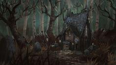 La maison de la sorcière - The witch's house . 1h30 speedy :)