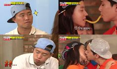 """Song Ji Hyo and Park Seo Joon Get Too Close for Gary's Comfort on """"Running Man"""""""
