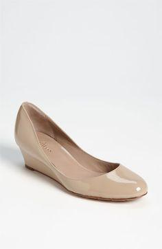 Nude with Wedge mini heel