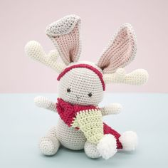 Christopher the Bunny amigurumi pattern by LittleAquaGirl