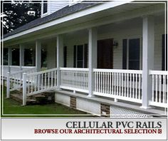 Architectural Cellular PVC Rails by Pacific Columns