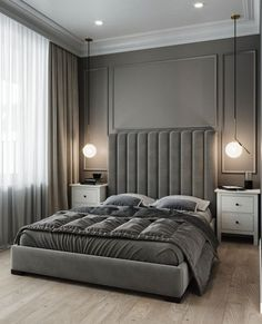 Design your life to suit your style perfectly. Mid-Century Bedroom Decor Tips & Tricks to Make This Bedroom Decor Last You Seasons and Seasons. Decorating a bedroom decor might be one of the biggest hardship Home Decor Bedroom, Bedroom Inspirations, Bedroom Interior, Bedroom Design, Luxurious Bedrooms, Small Master Bedroom, Mid Century Bedroom Decor, Bedroom Interior Design Luxury, Luxury Interior Design