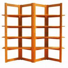Sun Teak # 5010 Book Shelves / Room Divider   Teak Furniture