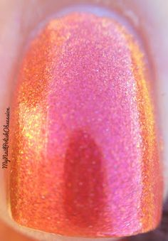Indigo Bananas - Fiery the Angels Fell  (My Nail Polish Obsession 09-10-13)