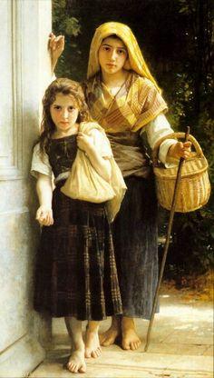 The Little Beggar Girls (1890)