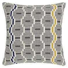 Get comfy and cosy in your sleep sanctuary and find a number of beautiful cushions and homewear from John Lewis to create your dream bedroom setting Plain Cushions, Floor Cushions, Decorative Throw Pillows, Tactile Texture, Cushions Online, Bed Throws, Dream Bedroom, Cushion Covers, Pattern Design