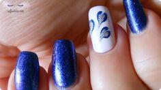 nail art soffio di dea marble