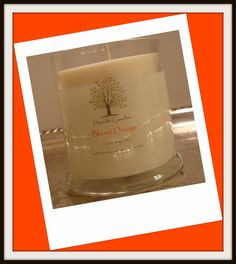 Blood Orange Soy Candle Home Decor by DanvilleCandles on Etsy, $16.75