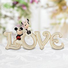 Disney's Mickey  Minnie True Love Figurine by Lenox