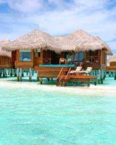 10 Picture-Perfect Private Island Resorts: Huvafen Fushi, North Malé Atoll, Maldives