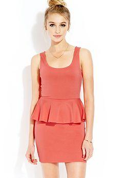 Posh Peplum Dress   FOREVER21 - 2000126319 #F21Crush