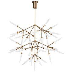 238 best modern chandeliers images on pinterest chandelier spur grande led chandelier aloadofball Images