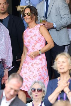 Pippa Middleton and boyfriend James Matthews make public debut at Wimbledon
