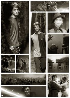 4.  Random photographs from the film Harry Potter and the Goblet of Fire
