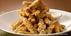 Claim Jumper Restaurant Copycat Recipes: Lemon Pepper Zucchini