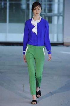 London Fashion Week Day 1 Trager Dalaney Spring/Summer 2015 Ready to wear 12 September 2014 Ss 15, Spring Summer 2015, London Fashion, Ready To Wear, September 2014, How To Wear, Kingston, Fall, Style