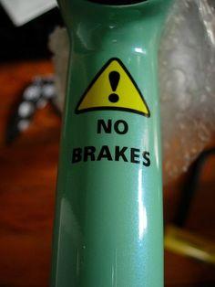 Kan soms handig zijn als ik weer een tijdje op mijn 'gewone' fiets heb rondgereden... :-)