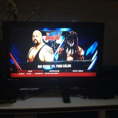 Big Show vs. Finn Bálor in WWE Main Event at WWE 2K16 #MainEvent Wwe Main Event, Wwe 2k, Finn Balor, Big Show, Maine