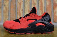 "Nike Air Huarache ""Uni Red  Black"" - EU Kicks: Sneaker Magazine"