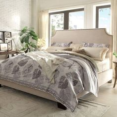 Found it at Wayfair - Kingston Upholstered Panel Bed