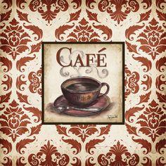 Damask Cafe II <br/> Tre Sorelle Studios