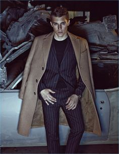 Nolan Gerard Funk snags a new cover with the Cinema issue of Dress to Kill Men. The Canadian actor and model appears in a dark photo shoot for the magazine. Photographer Peter Tamlin captures Funk with help from stylist, Randy Smith. Bringing desirable styles to the forefront, Smith outfits Funk in the likes of Dsquared2... [Read More]