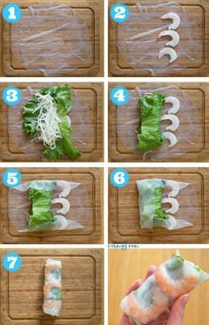 These fresh and healthy Vietnamese Rice Paper Shrimp Rolls are so easy to make! … These fresh and healthy Vietnamese Rice Paper Shrimp Rolls are so easy to make! They're accompanied by my go-to creamy peanut sauce. Shrimp Recipes, Rice Recipes, Asian Recipes, Rice Paper Recipes, Sushi Roll Recipes, Meal Recipes, Vietnamese Spring Rolls, Vietnamese Rice Paper Rolls, Vietnamese Salad Rolls