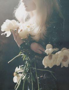 Guinevere Van Seenus by Tim Walker for Vogue UK...