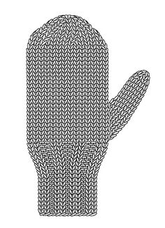 When it comes to the fit of a glove, the make-or-break spot is the thumb gusset. We all need room to move those critical opposable thumbs around! Mittens Pattern, Knit Mittens, Mitten Gloves, Knitting Designs, Knitting Patterns Free, Crochet Stitches, Knit Crochet, Knitting Books, Hand Warmers