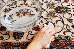 Как почистить ковер содой и уксусом — БУДЬ В ТЕМЕ
