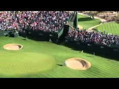 Caddie Races - 16th Hole at TPC of Scottsdale - Waste Management Phoenix Open