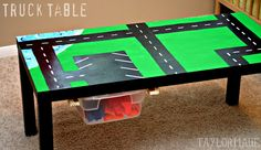 20 Cool DIY Play Tables For A Kids Room | Kidsomania