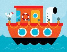 Boat Puzzle - Innovative Kids by mrmack, via Flickr