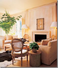 This image was circa 1950's. Timeless furniture and design.  You can still use these pieces in todays interiors and not look dated.  The only thing I am not digging is the lamps.  The could be changed.  LOL!