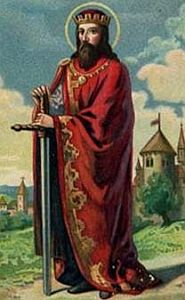 Saint Sigismund of Burgundy, patron against fever. May 1.