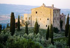 Castello di Vicarello in Tuscany, Italy - just seems to have total charm about it - and think about all the gorgeous Italian food too...