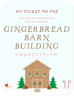 Gingerbread Barn Building Competition