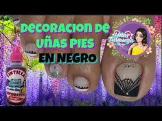 Decoracion Uñas Pies en Negro/Diseños de Uñas Para Pies - YouTube Toe Nails, Sistema Solar, Diana, Youtube, Frases, Toe Nail Art, Pedicures, Feet Nails, Solar System