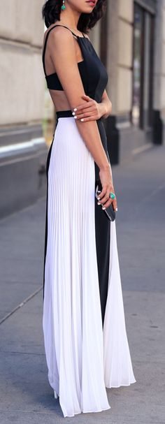 New Dress Formal Long Gowns Haute Couture 29 Ideas White Fashion, Look Fashion, Street Fashion, Fashion Spring, Dress Fashion, Fashion Ideas, Gypsy Fashion, Formal Fashion, Street Chic