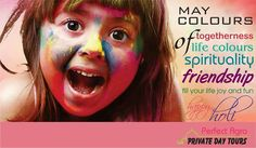 May the colorful festival of Holi bring good luck and prosperity in everyone's life.