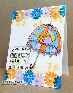 Card by Shery using stamps from the VIGNETTE: Artful Flutters, VIGNETTE: Eclectic Florals, MOM Subway Art Builders, and It's All About YOU! sets (http://stamplorations.com/shop/)